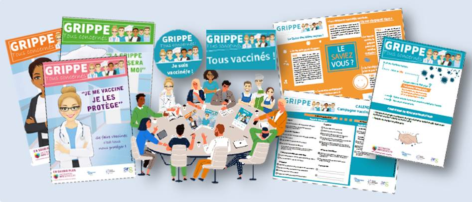 Kit Promotion vaccination grippe EHPAD
