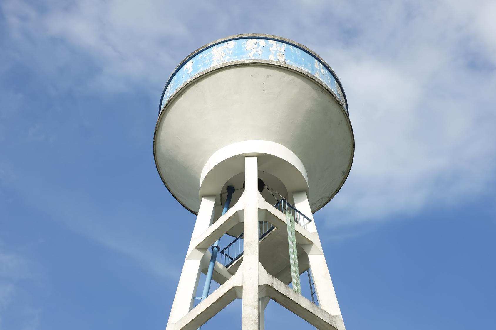 Les réservoirs d'eau potable