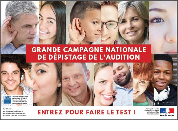 Campagne dépistage audition
