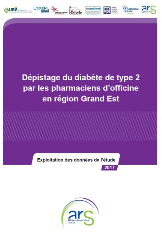 Dépistage du diabète de type 2 par les pharmaciens d'officine ...