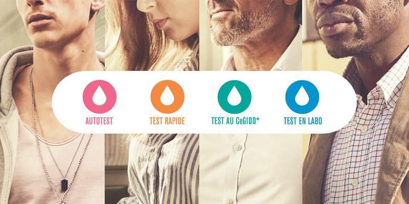 Campagne Tests VIH SIDA IST