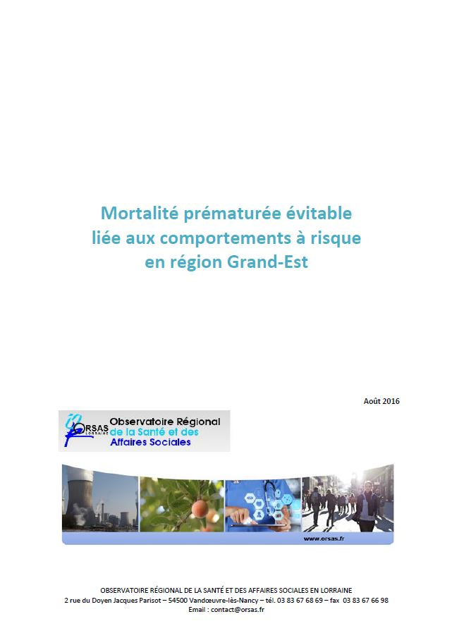 COUV MORTALITE EVITABLE 2016