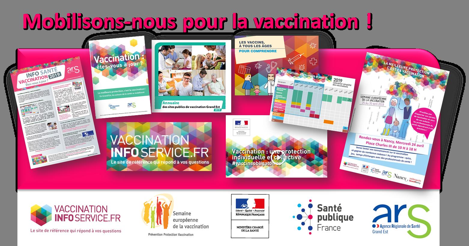 Vaccination Calendrier 2019.Semaine Europeenne De La Vaccination Mobilisons Nous En