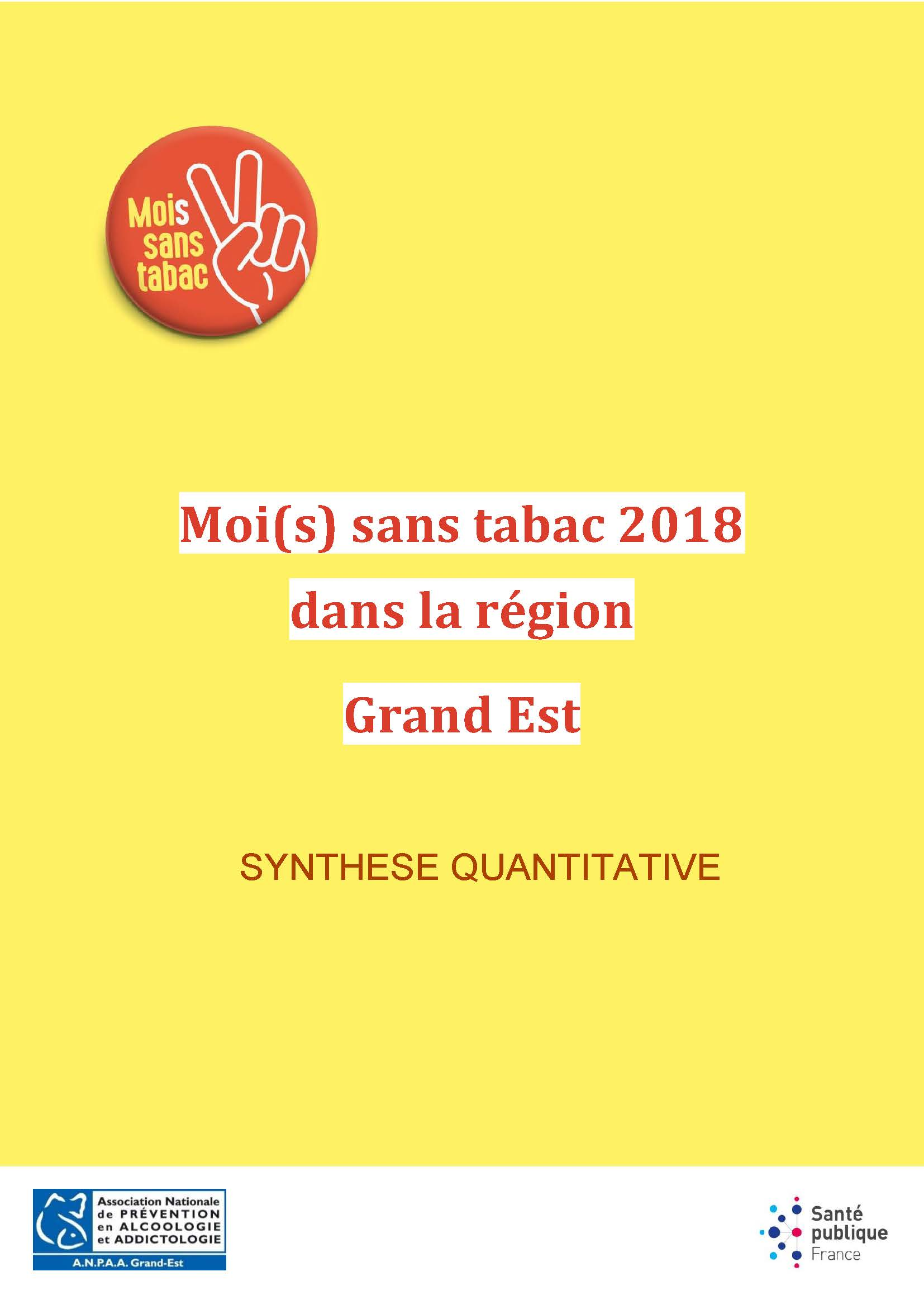 MoST_2018_Synthèse_quantitative Grand Est
