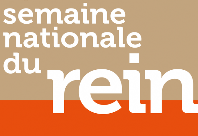Semaine nationale du rein - 2018
