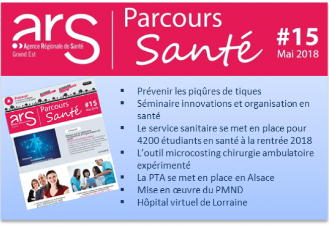 Couverture newsletter mai