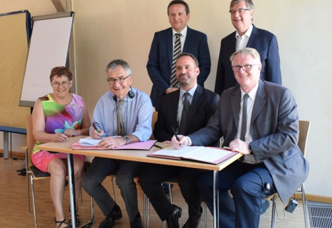 signature de la convention  - epilepsie