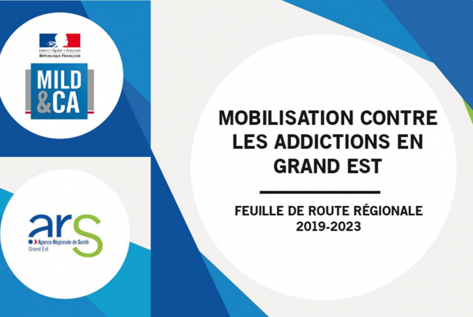 Feuille de route Addiction Grand Est ARS-MILDECA